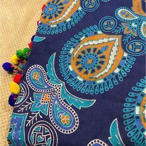 Tapestry Round beach throw tablecloth Indian Boho
